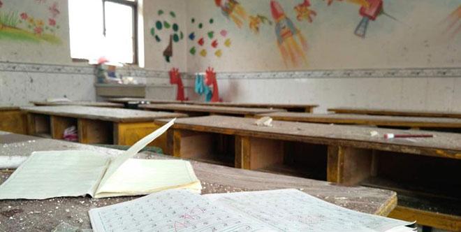 江苏盐城遭遇特大暴雨龙卷风 一幼儿园受