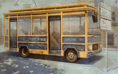 公交车上的武警